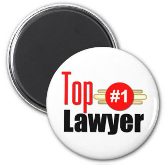 TOP Lawyer 6 Cm Round Magnet