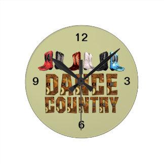 TOP Line Dance Country Wall Clocks
