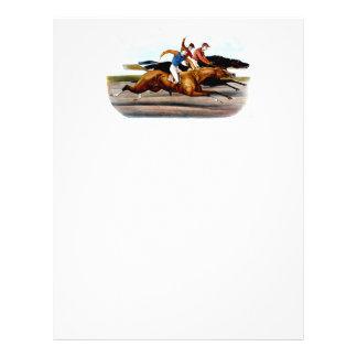 TOP Love Horse Racing 21.5 Cm X 28 Cm Flyer