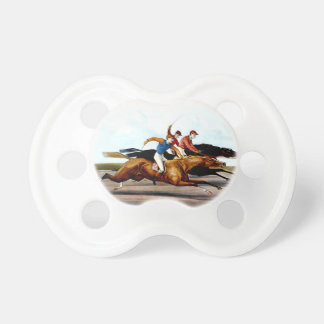 TOP Love Horse Racing Baby Pacifiers