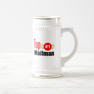 Top Mailman Beer Stein