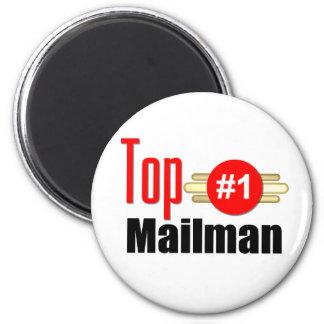 Top Mailman 6 Cm Round Magnet