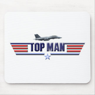 Top Man Logo Mouse Pad