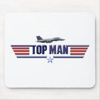 Top Man Logo Mouse Pads