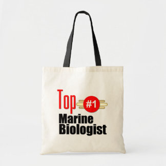 Top Marine Biologist Tote Bag