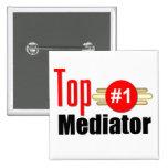 Top Mediator Pinback Buttons