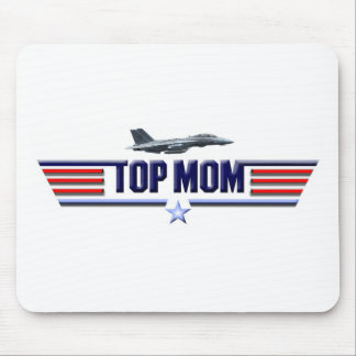 Top Mom Logo Mouse Pads