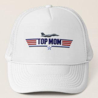 Top Mom Logo Trucker Hat