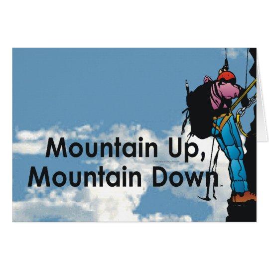 TOP Mountain Climbing Card