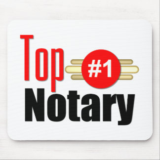 Top Notary Mouse Mat