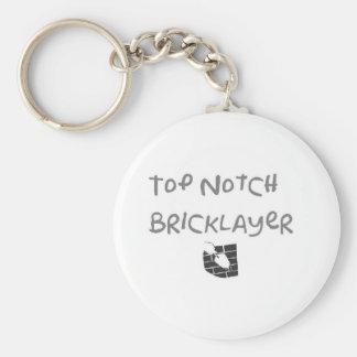 Top notch bricklayer keychains