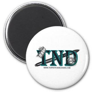 Top Notch Dezigns Classic 6 Cm Round Magnet