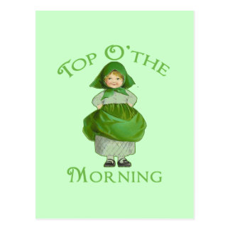 Top O the Morning Cute Products Postcards