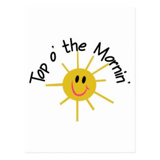 Top O The Morning! Postcard