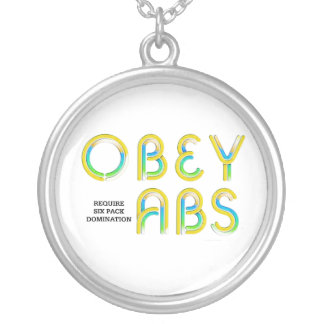 TOP Obey Abs Pendants