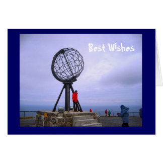 Top of Europe, North Cape Card