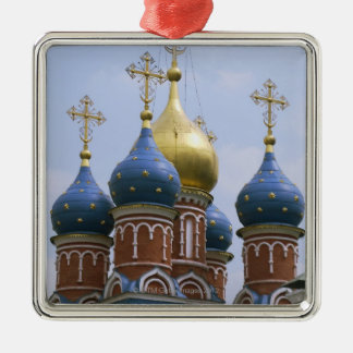 Top of Russian Orthodox Church in Russia Christmas Ornament