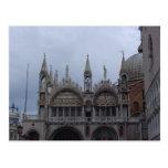Top of the Basilllica, St. Mark's Square, Venice Postcard