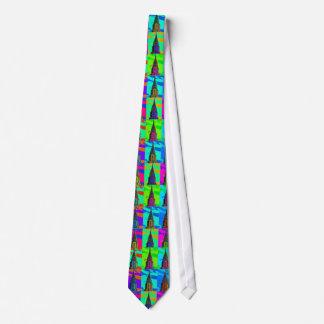 Top of the Chrysler Building Pop Art Tie