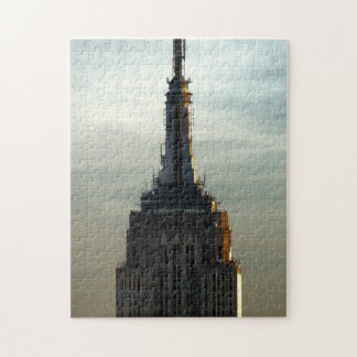 Top of the Empire State Building Jigsaw Puzzle