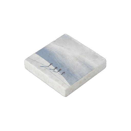 Top of The World Stone Magnet