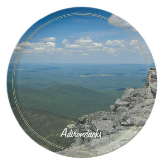 Top of Whiteface Mountain, Adirondacks, NY Plate