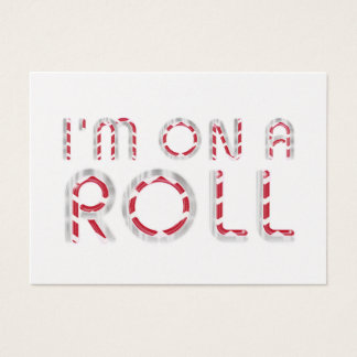 TOP On a Roll Business Card
