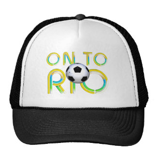 TOP On to Rio Hat