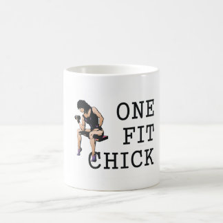 TOP One Fit Chick Coffee Mug