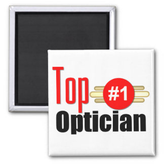 Top Optician Square Magnet