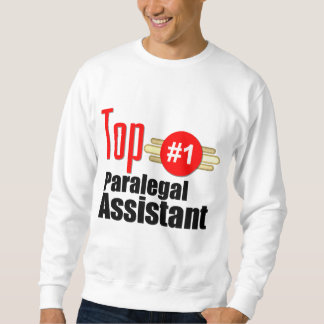 Top Paralegal Assistant Pull Over Sweatshirts
