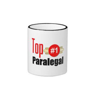 Top Paralegal Ringer Mug