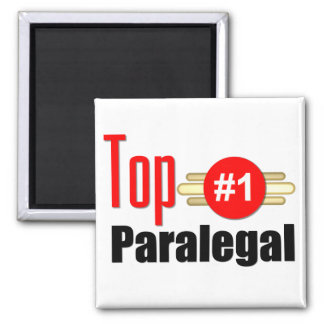 Top Paralegal Square Magnet