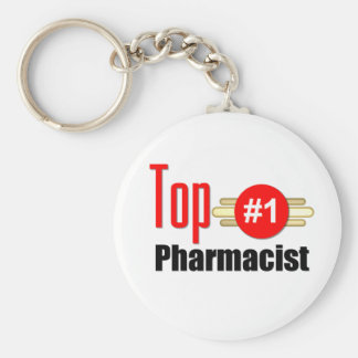 Top Pharmacist Key Ring