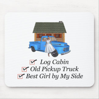 TOP Pickup Truck Mouse Pad