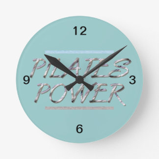 TOP Pilates Power Wallclock