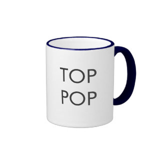 Top Pop Coffee Mug - Grey