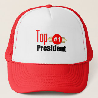 Top President Trucker Hat