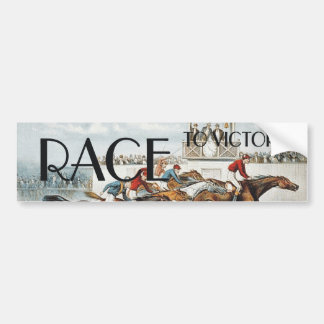 TOP Race to Victory Bumper Sticker