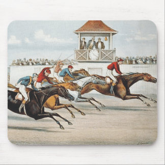TOP Race to Victory Mouse Pad