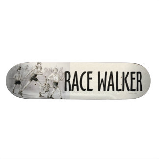 TOP Race Walker 21.6 Cm Old School Skateboard Deck