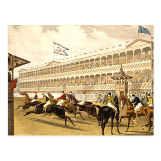 TOP Racetrack Postcard