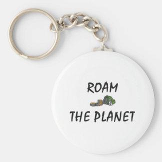 TOP Roam the Planet Key Ring
