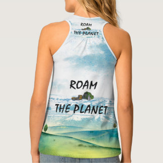 TOP Roam the Planet Tank Top