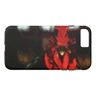Top Rooster Abstract Impressionism iPhone 7 Plus Case