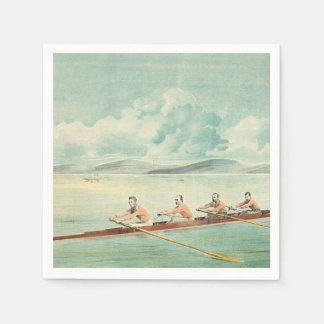 TOP Rower Paper Napkins
