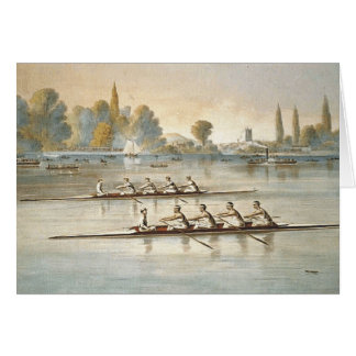 TOP Rowing Greeting Card