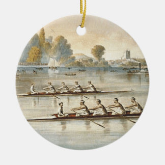 TOP Rowing Christmas Ornament