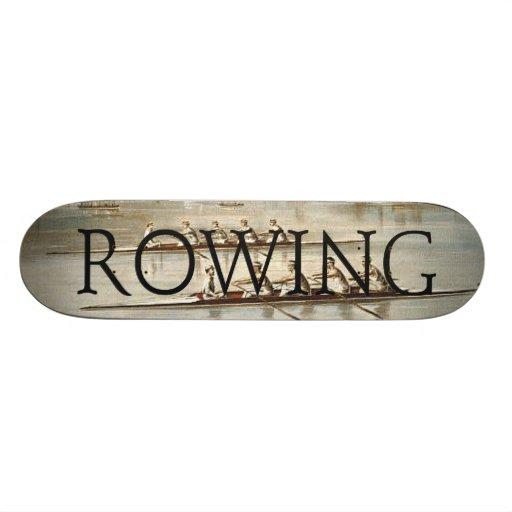 TOP Rowing Skateboard Deck