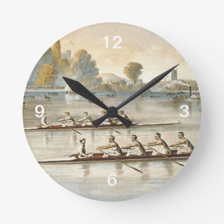 TOP Rowing Wallclock